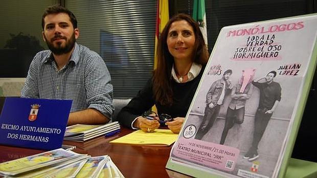El delegado Juan Pedro Rodríguez informa sobre el espectáculo - L. M.