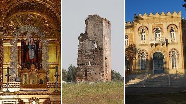 Santa Ana, la Torre de los Herberos y el Palacio de Alpériz