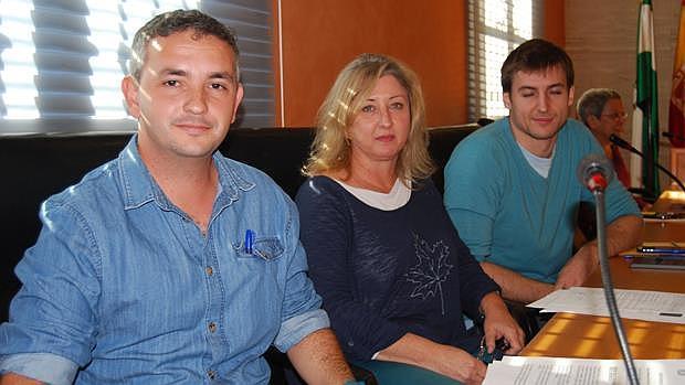 Concejales del grupo Sí Se Puede Dos Hermanas - L.M.