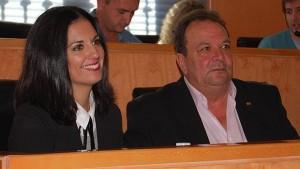 Los concejales de C's, Ana González y Pedro Taborda - L.M.