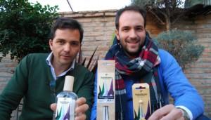 Marcos Escribano y Manuel Cordón, creadores de «Santo Aroma» / L. M.