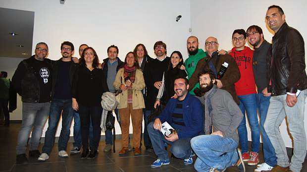 Integrantes del colectivo Fotografiando / L.M.