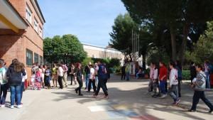 Escolares en un centro de Dos Hermanas - L. M