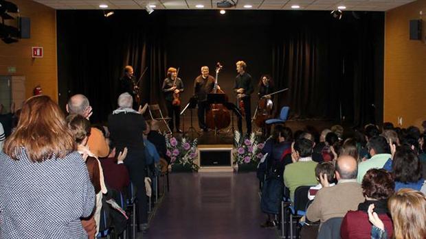 Concierto celebrado en el centro cultural de Montequinto - ABC