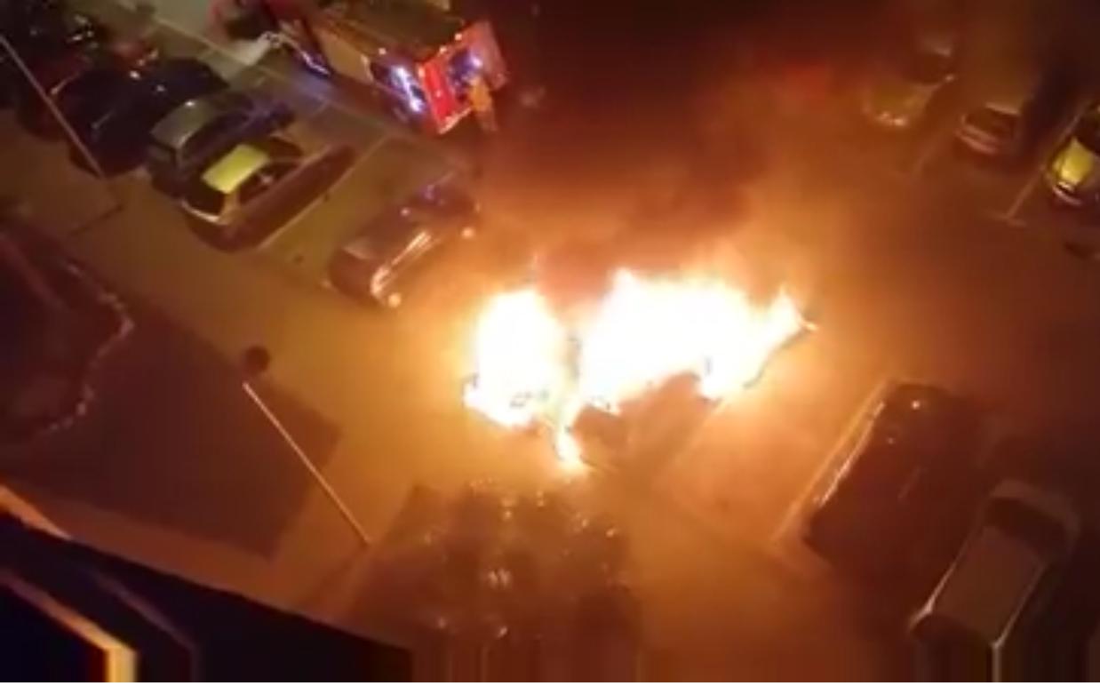 fuego en montequinto