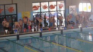 Campeonato de natación celebrado en Dos Hermanas - ABC