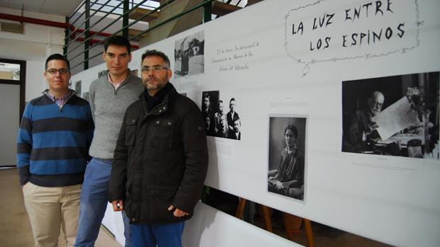 Los profesores organizadores de las jornadas / L.MONTES