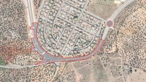 Plano del nuevo vial que se construirá / ABC