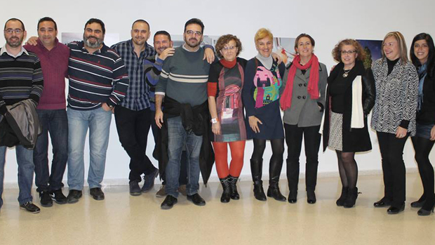 Integrantes de la asociación Fotoquinto / ABC