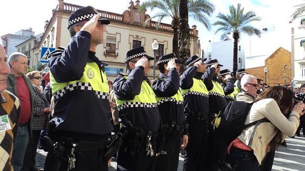 Agentes de la Policía Local de Dos Hermanas - L.M.