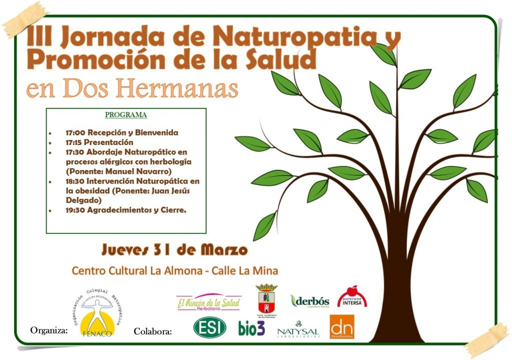 Cartel III Jornada Naturopatiìa DH