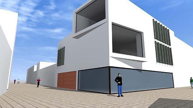 Recreación del nuevo edificio municipal - ABC
