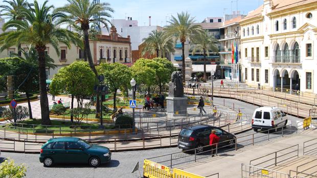 Plaza de la Constitución de Dos Hermanas / L.M.