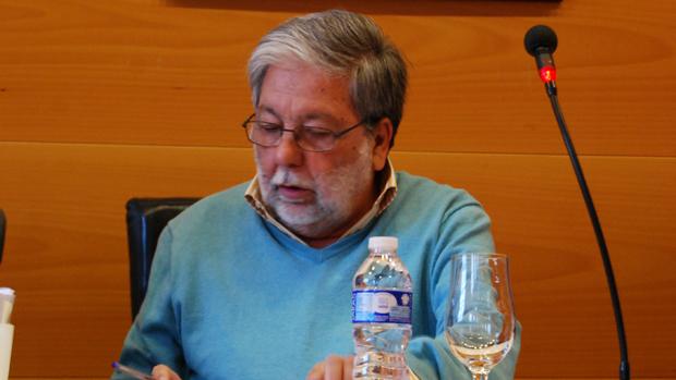 Francisco Toscano, este pasado viernes en el Pleno / L.M.