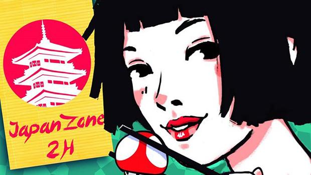 Cartel del «JapanZone 2H» / ABC