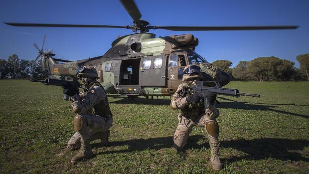 Unidades de helicópteros del Copero - J.M. SERRANO