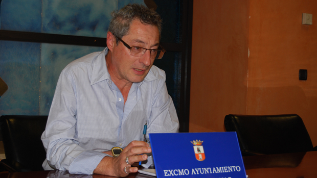 El portavoz municipal Agustín Morón / L.M.