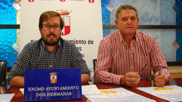 El delegado Francisco Toscano Rodero, a la izquierda de la imagen - ABC