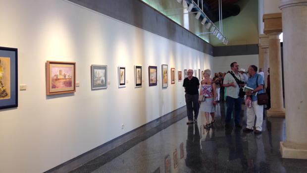 Exposición de pinturas y manualidades - L.M.