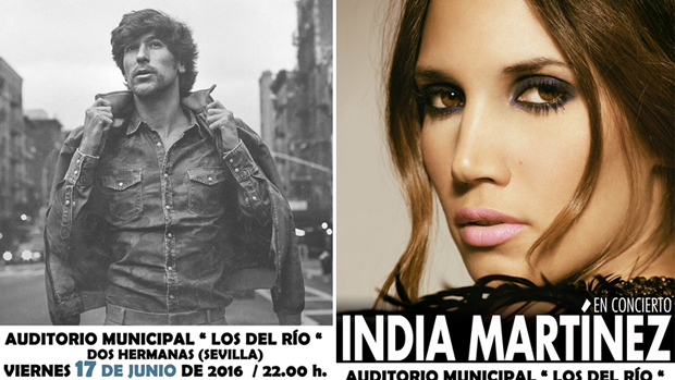 Manuel Lombo e India Martínez - ABC