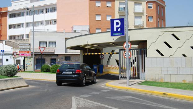 Aparcamiento subterráneo en el Arenal - L. M.
