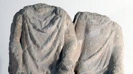 Matrimonio sedente de Orippo, en el Museo Arqueológico