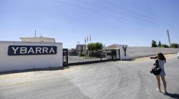 La nueva fábrica de Ybarra se localizará a algo más de un kilómetro de sus anteriores terrenos - RAÚL DOBLADO