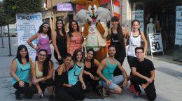 Bailarines de Adanzartes, encargados de las animaciones / ABC