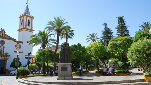 Plaza de la Constitución de Dos Hermanas - L.M.