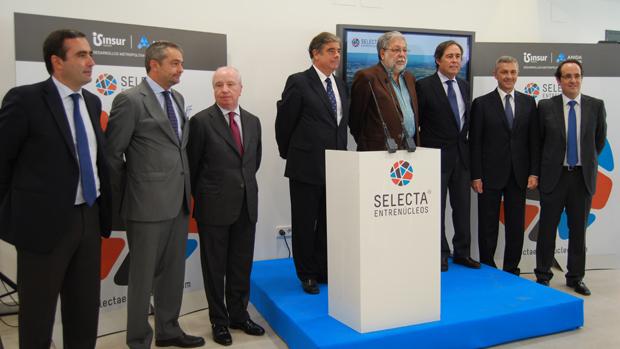 Inauguración de la oficina de ventas de Selecta Entrenúcleos - L. MONTES