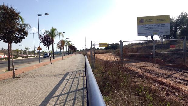 Zona de Entrenúcleos donde irá el acceso a la SE-40 - L. M.