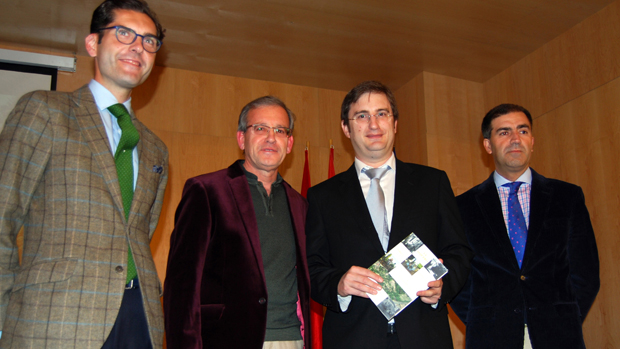 Álvaro Cueli, José Boza, Alberto Millán y Rafael López / L.M.
